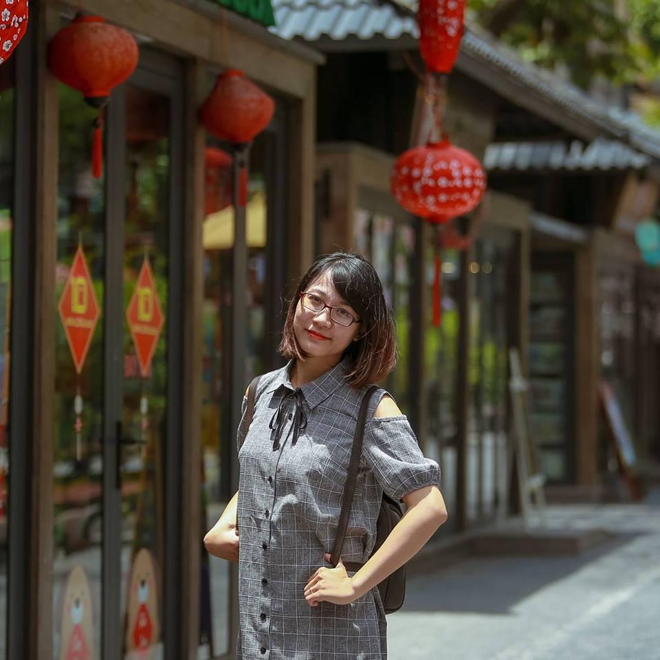 Phóng viên Nguyễn Mai Linh