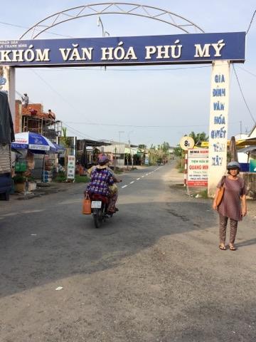 Làng Phú Mỹ xanh - Nơi thật đáng sống