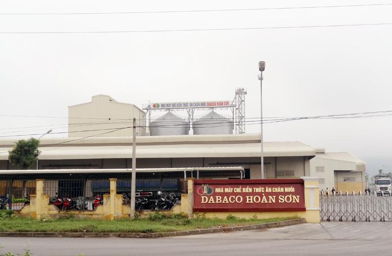 Lĩnh vực kinh doanh chính của Dabaco là thức ăn chăn nuôi.