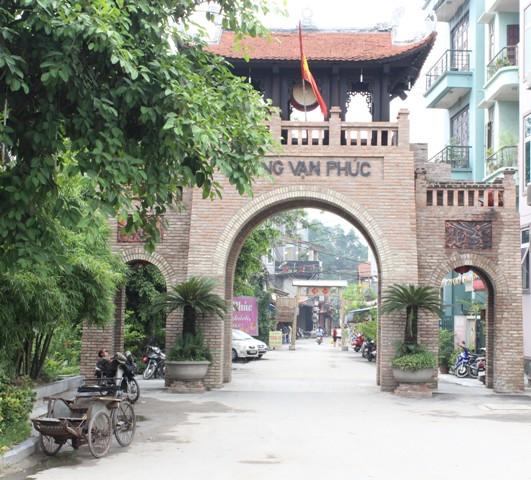 Làng lụa Vạn Phúc (phường Vạn Phúc, quận Hà Đông, TP. Hà Nội) - một điểm đến văn hóa giữa Thủ đô.