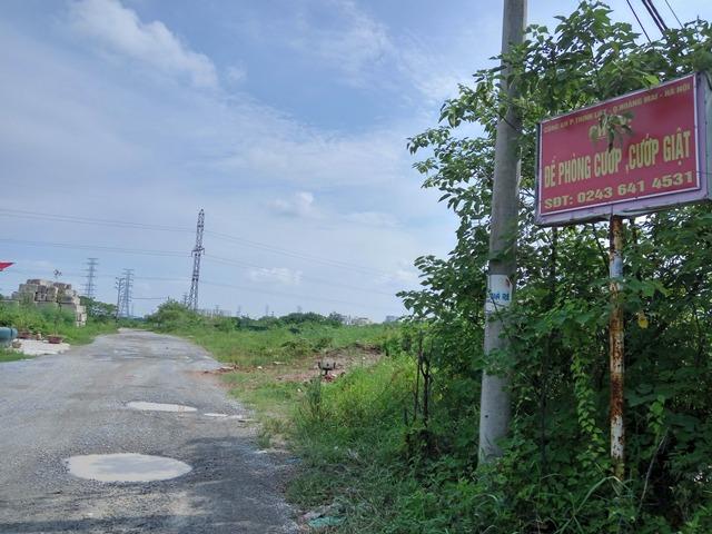Khu đô thị mới Thịnh Liệt (quận Hoàng Mai) của Tổng công ty xây dựng Licogi rộng 35 ha, chậm tới 14 năm (Ảnh: Dân Việt).