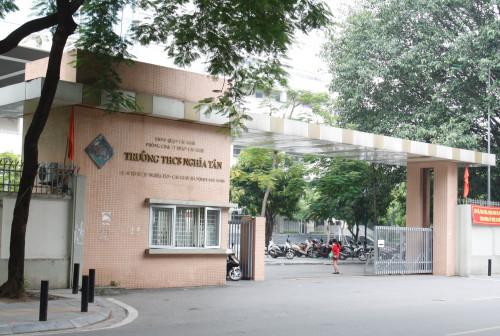 Trường THCS Nghĩa Tân.