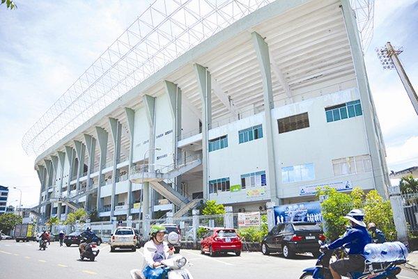 Sân vận động Chi Lăng, Đà Nẵng. Ảnh: T.L