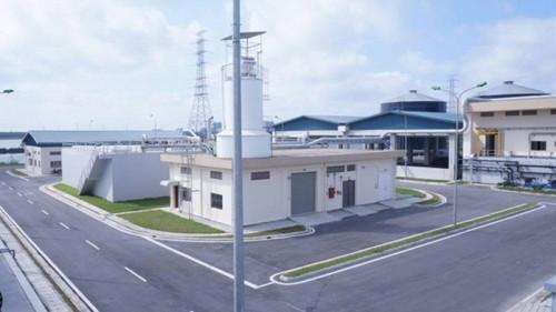 Nhà máy xử lý nước thải Yên Sở.