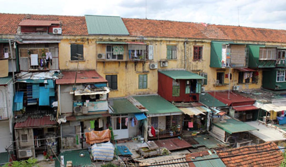 Hà Nội kiến nghị cơ chế tự quyết trong cải tạo chung cư cũ