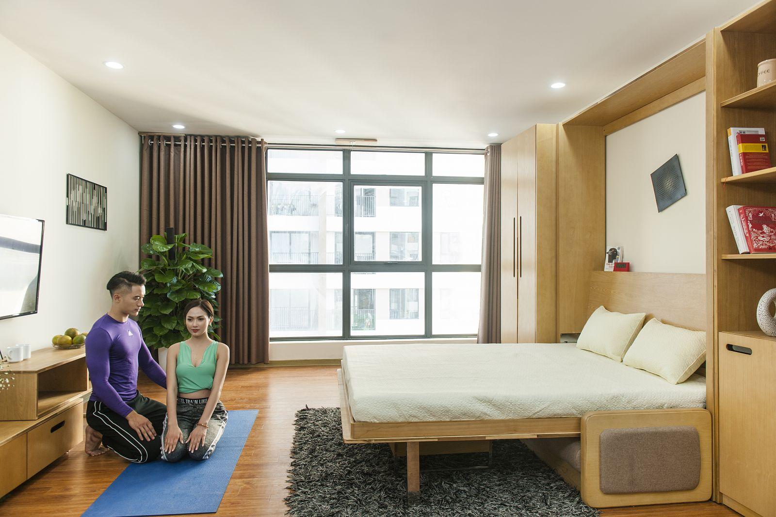 Các sản phẩm nội thất thông minh phải có khả năng biến đổi linh hoạt không gian, có nhiều chức năng để phục vụ hơn một nhu cầu trong sinh hoạt.