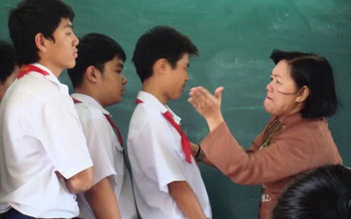Ngành giáo dục gần đây liên tục để xảy ra những vụ bạo hành học sinh (nguồn Internet)