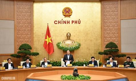 Thủ tướng chủ trì phiên họp Chính phủ thường kỳ tháng 12 - Ảnh: VGP/Quang Hiếu