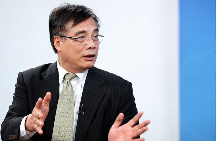 PGS-TS Trần Đình Thiên, nguyên Viện trưởng Viện Kinh tế Việt Nam.
