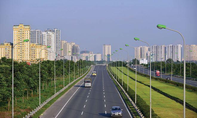 Nhiều dự án BT hạ tầng đã làm thay đổi bộ mặt đô thị Hà Nội. Ảnh: Dũng Minh