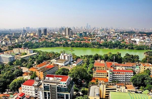 Khu phố cũ ở quận Hoàn Kiếm được ưu tiên để xây dựng công trình văn phòng làm việc với chiều cao 4-6 tầng
