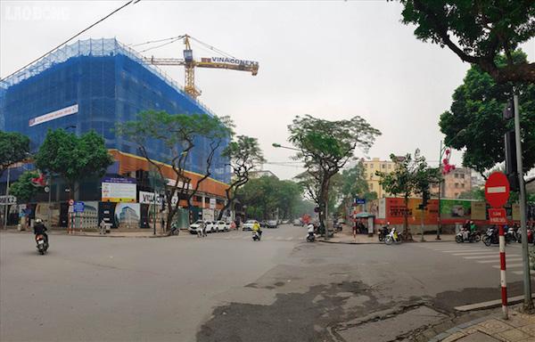 Khu đất 31-35 Lý Thường Kiệt được đề xuất xây dựng trụ sở văn phòng ngân hàng cao 45m, quy mô 14 tầng và 1 tum