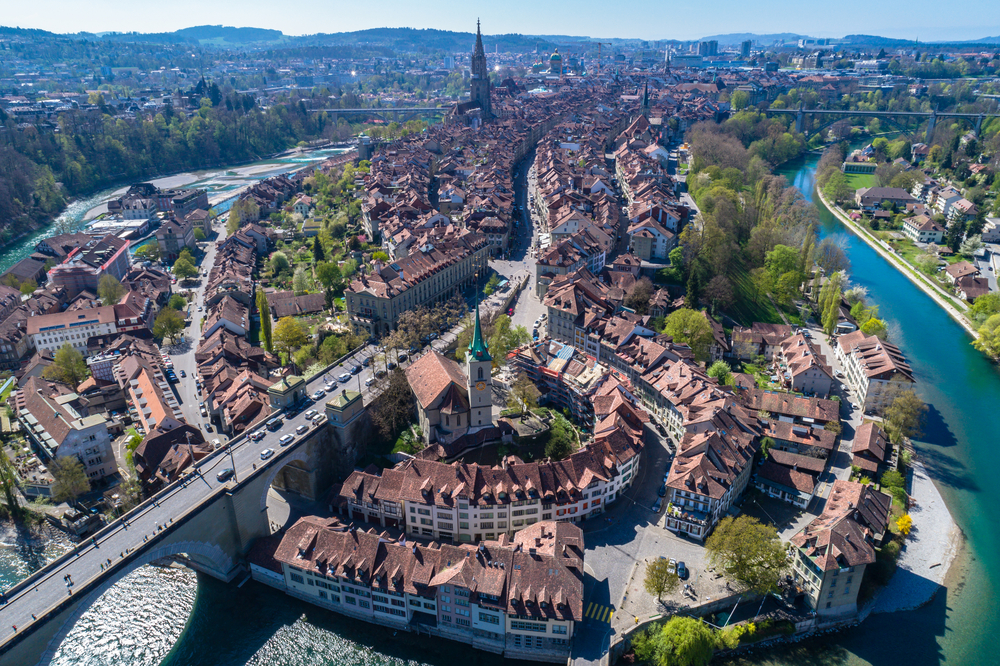 Thủ đô của Thụy Sĩ - Bern.