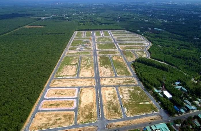 Giới hạn nào cho đất nền phân lô?