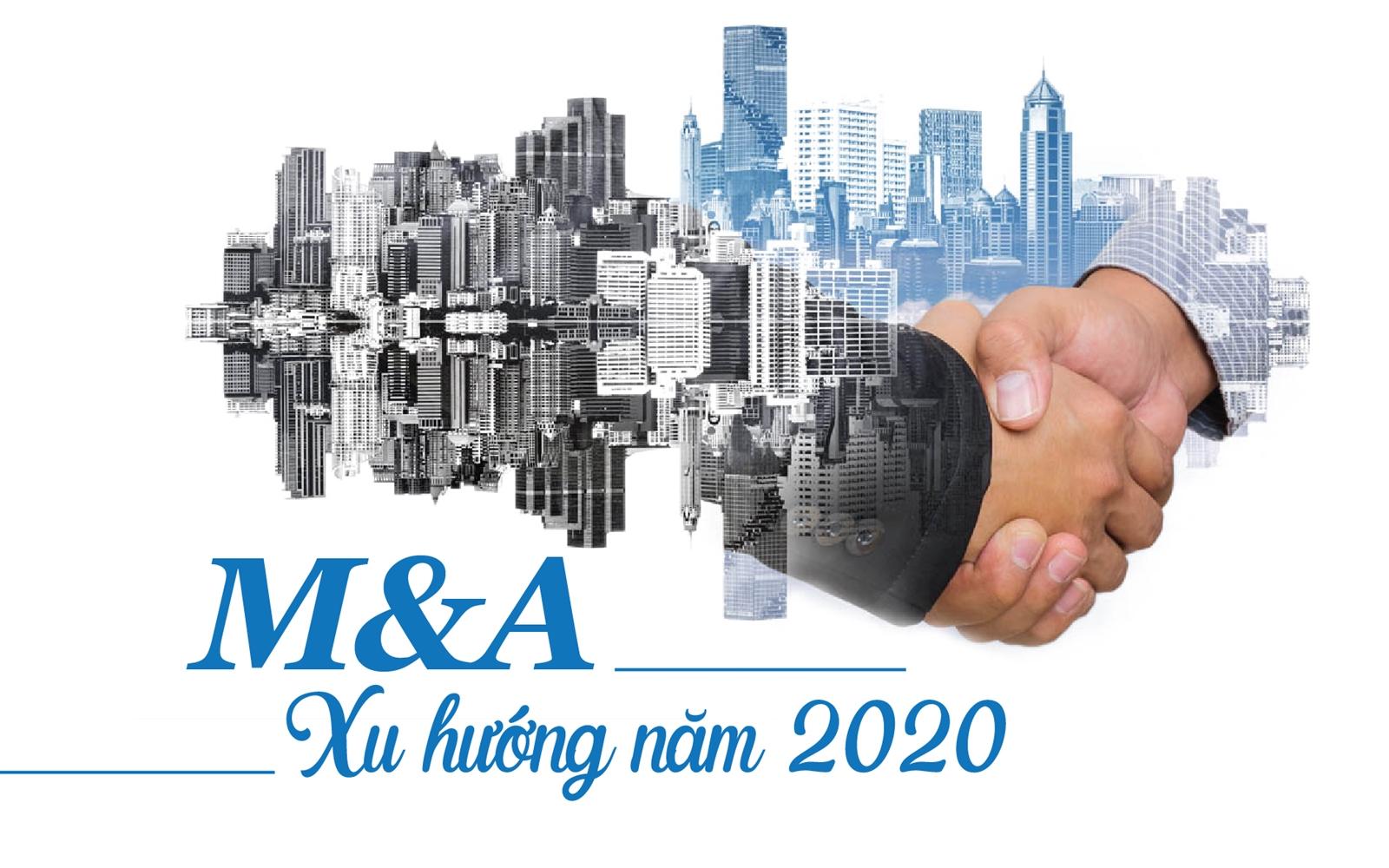 """M&A bất động sản 2020: """"Tự nắm tóc nâng mình lên""""?"""