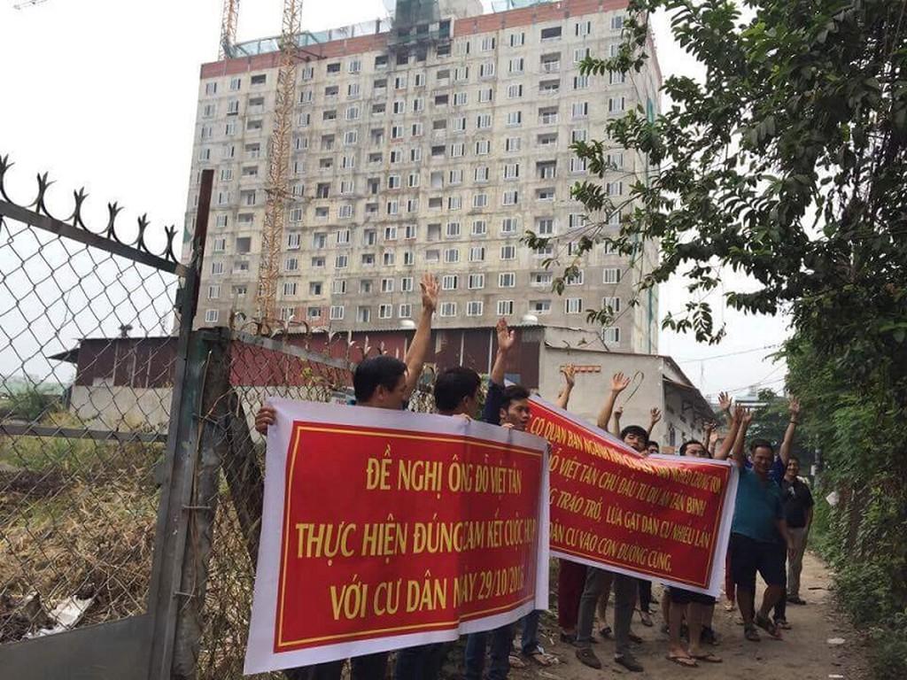 Cho tồn tại sai phạm ở Tân Bình Apartment có trái Nghị định 139?