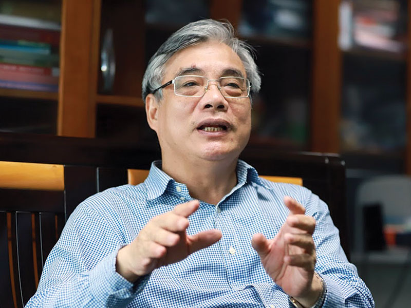 """TS.Trần Đình Thiên: """"Nền kinh tế Việt Nam có bay lên như Thánh Gióng sau dịch?"""""""