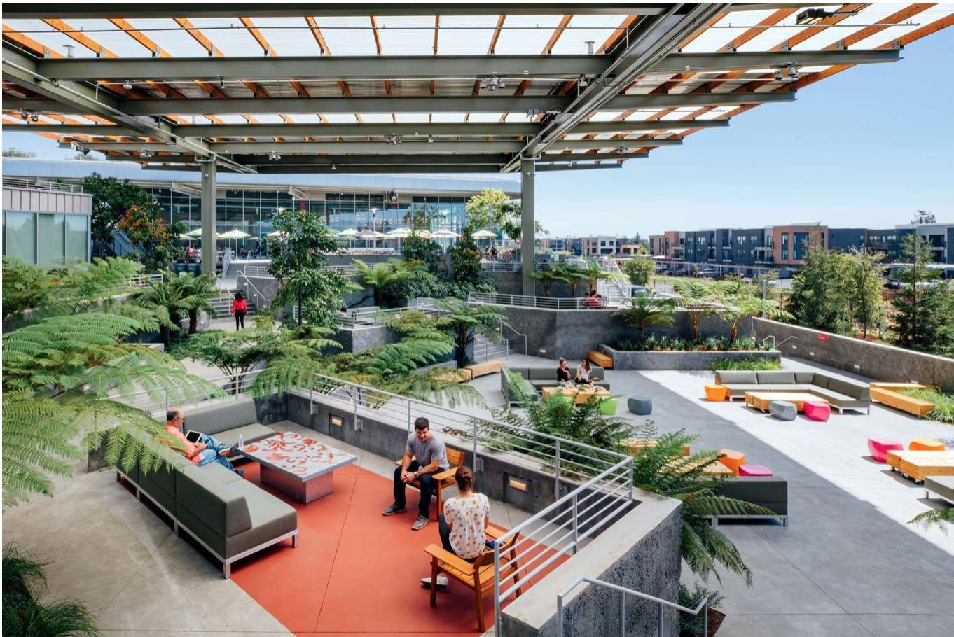 Chiêm ngưỡng 20 văn phòng công ty công nghệ thân thiện
