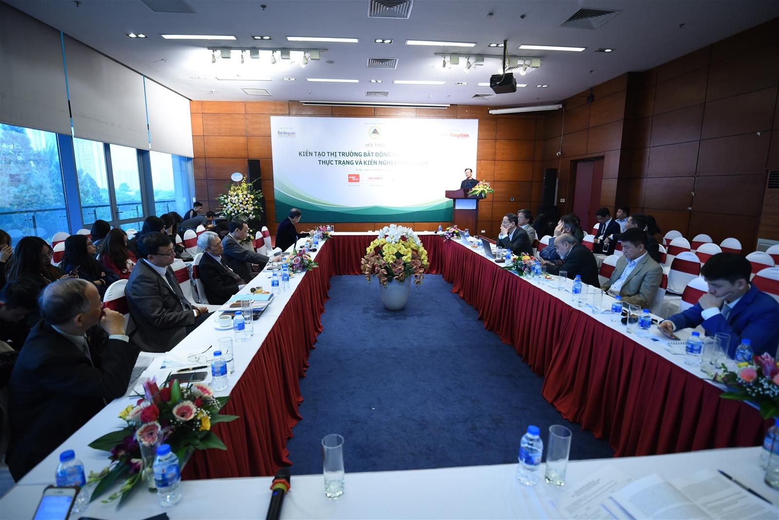 Hội thảo Kiến tạo thị trường bất động sản nông nghiệp