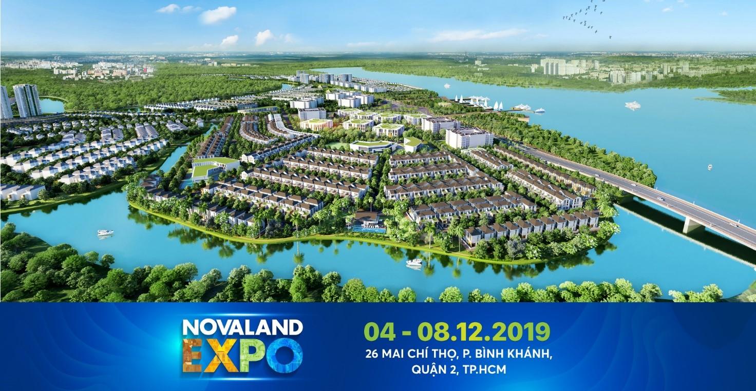 Lực hấp dẫn từ triển lãm bất động sản Novaland Expo tháng 12
