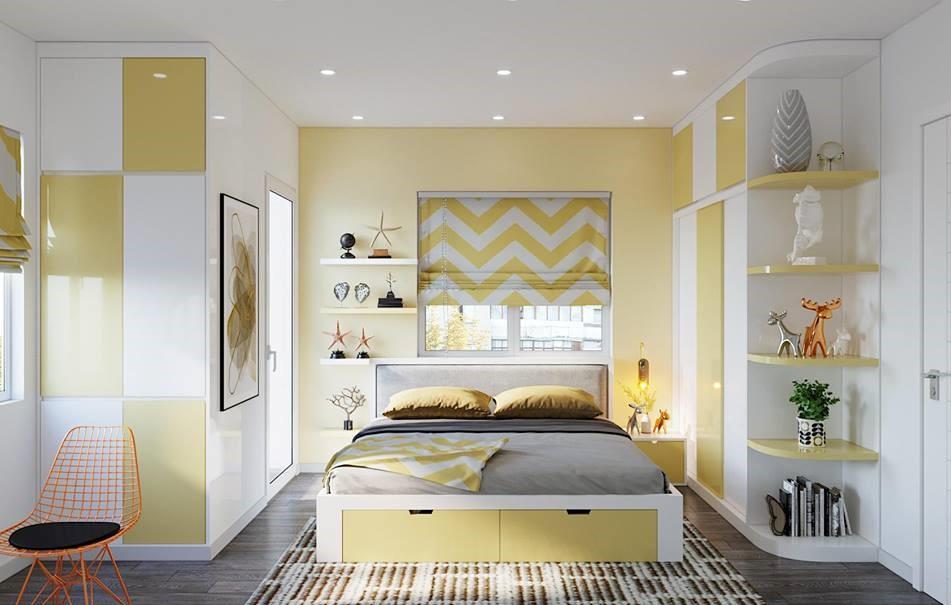 Các chi tiết đều được đơn giản hóa khiến căn phòng mộc mạc, tiên lợi nhưng vẫn tạo ra nét cá tính riêng biệt của chủ nhân ngôi nhà.