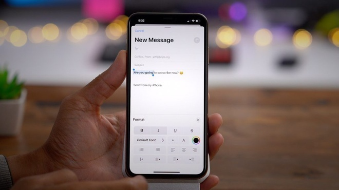 Apple thừa nhận lỗi trên ứng dụng Mail
