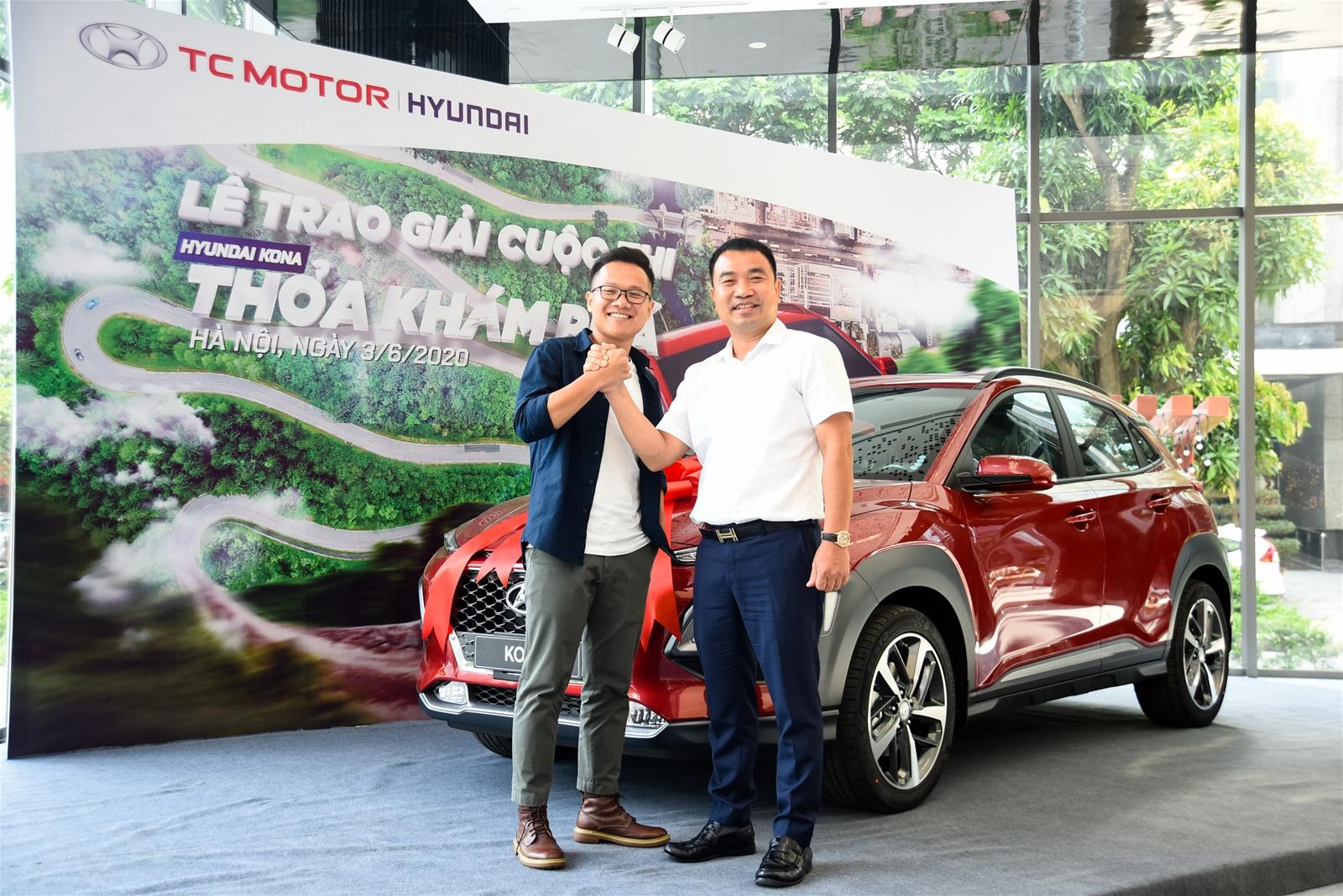 Hyundai Kona là giải thưởng cuộc thi sáng tạo video trải nghiệm