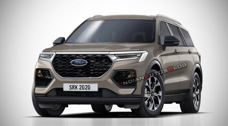Ford Everest mới lộ diện qua ảnh dựng